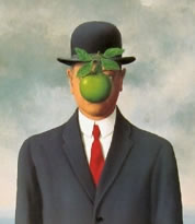 Magritte: Son of Man